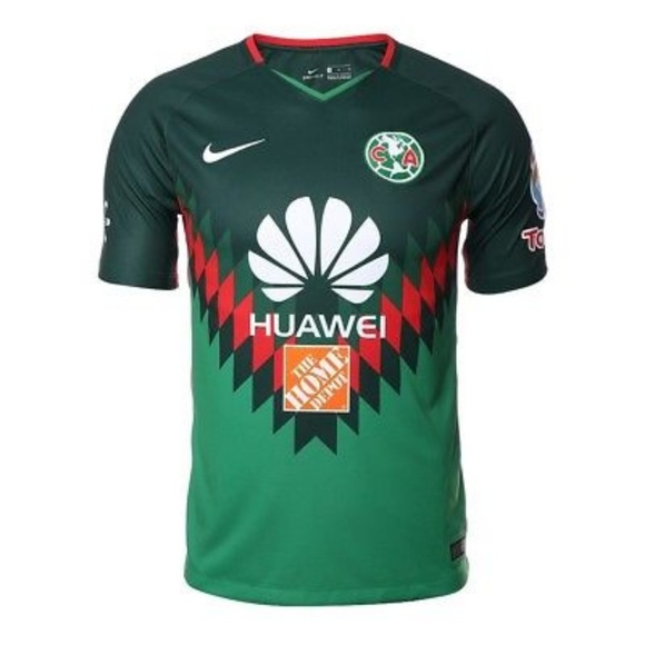 pretty nice c9554 4f96d Nike Club America Green Attack Jersey 2018
